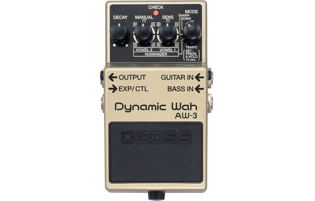 Boss AW-3 Dynamic Wah - The Bass Gallery