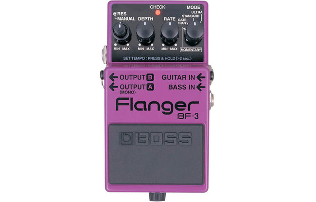 Boss  BF-3 Flanger - The Bass Gallery