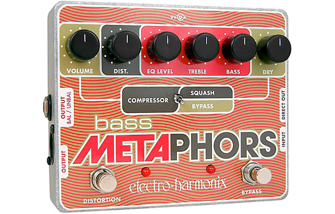 Electro Harmonix - Bass Metaphors - The Bass Gallery