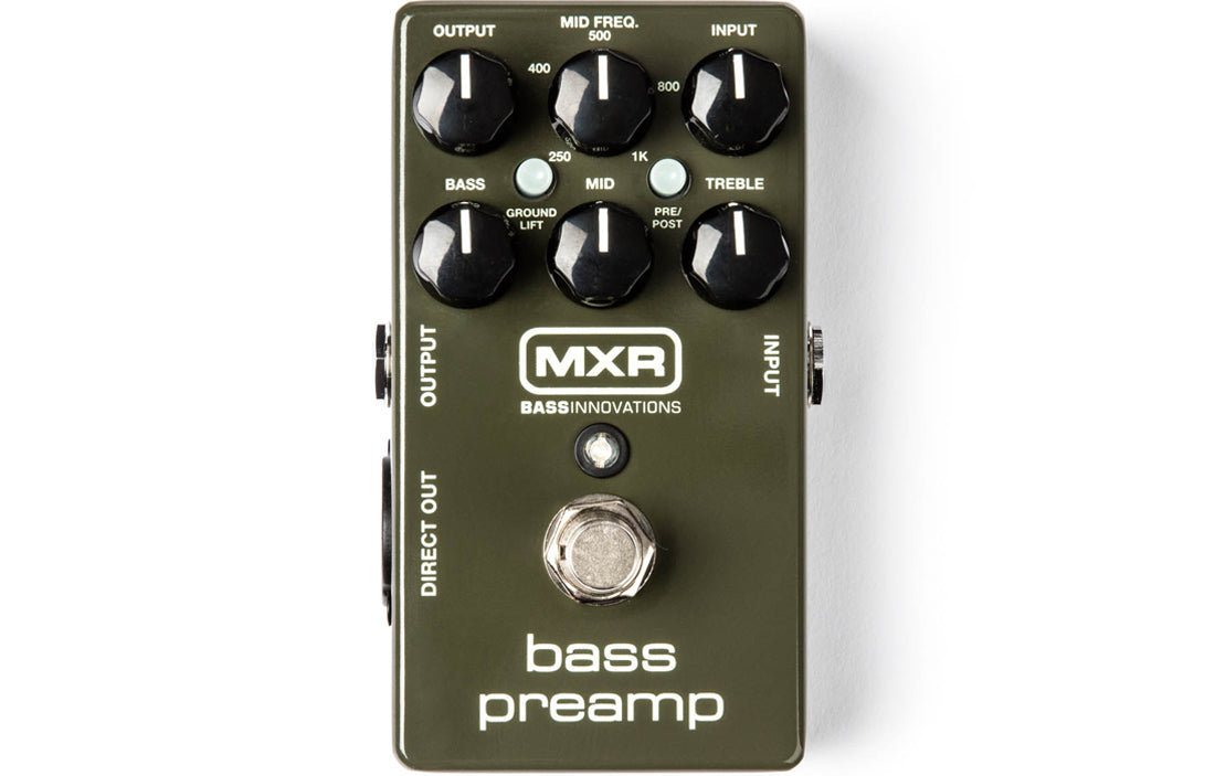 MXR Bass Preamp M81 - The Bass Gallery