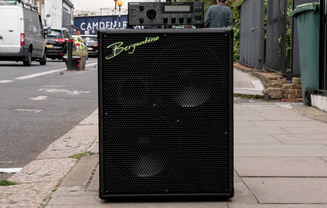 Bergantino B-Amp and HDN210 Full Rig