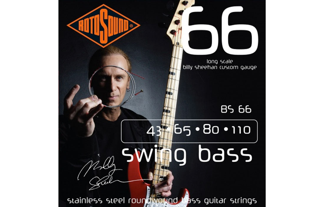 Rotosound Billy Sheehan Signature Set - The Bass Gallery