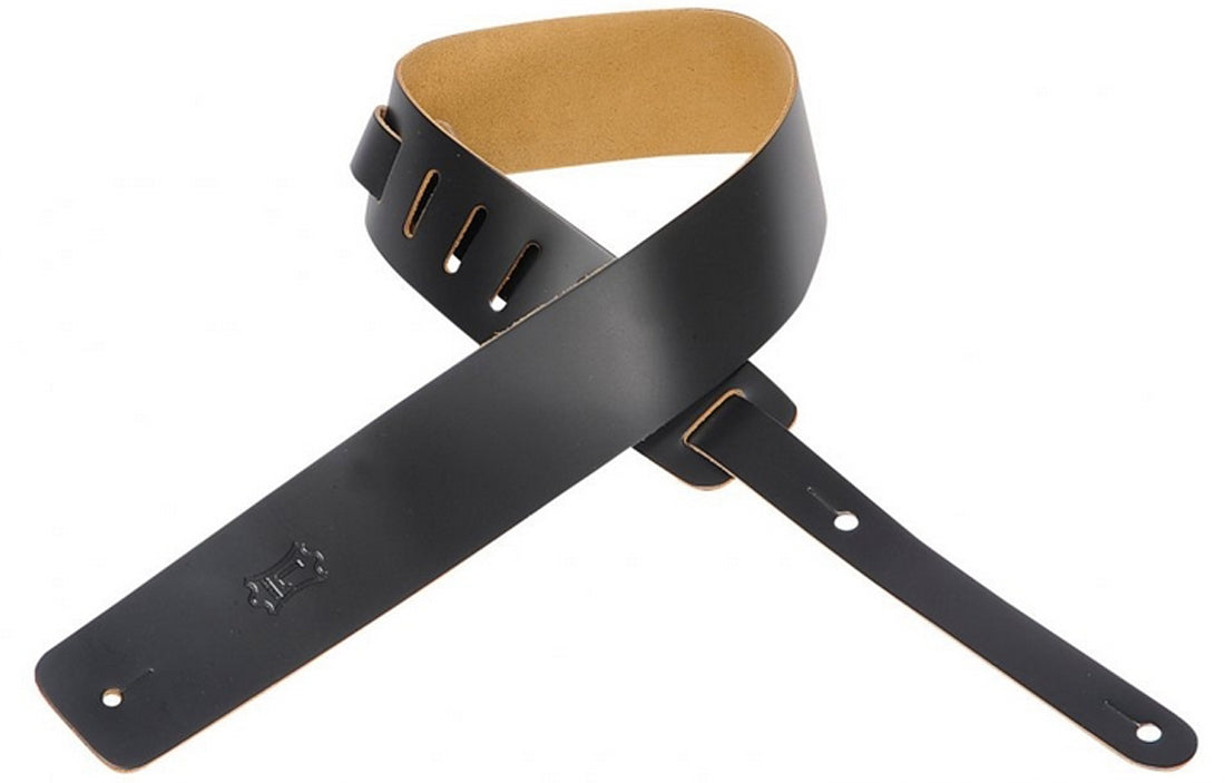 Levys M1 Leather Strap - The Bass Gallery