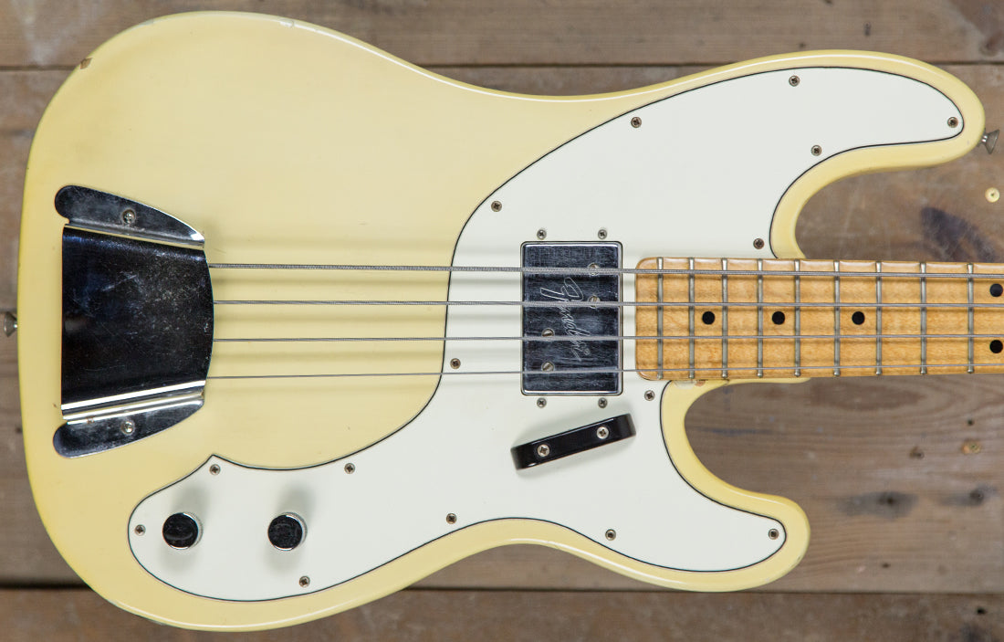 Fender Tele Bass 1972 - The Bass Gallery