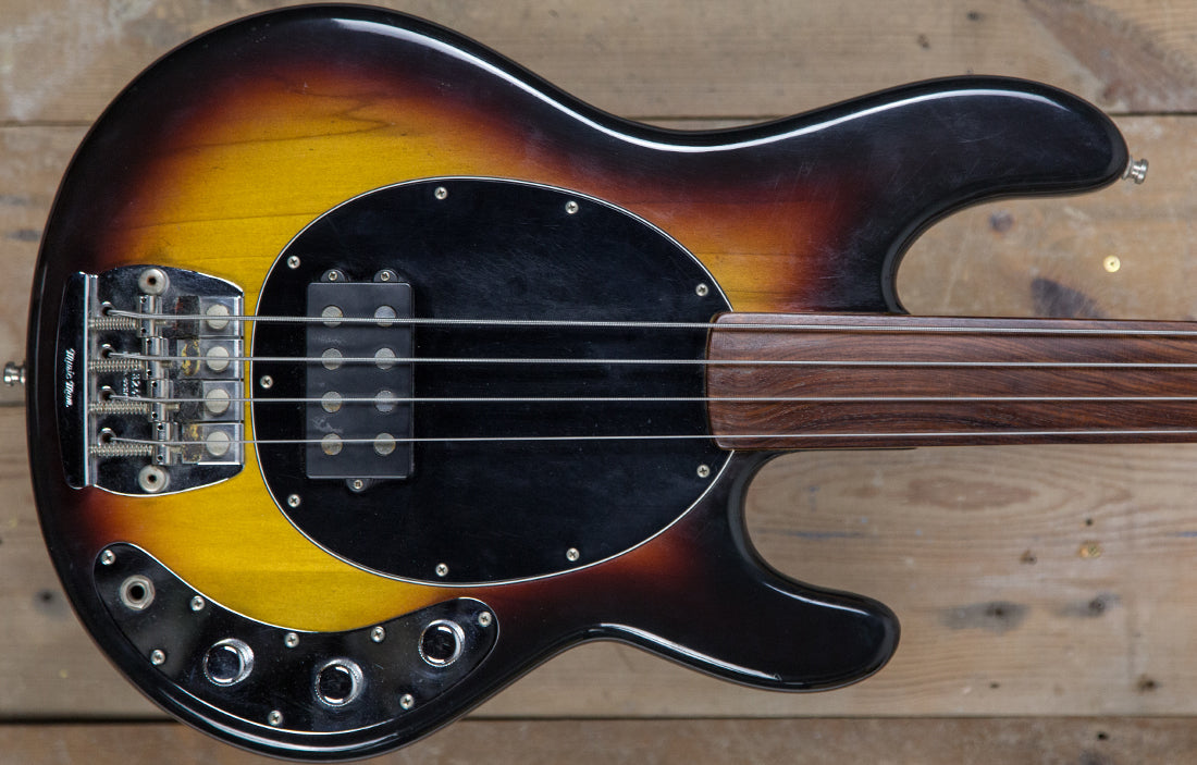 Music Man StingRay Fretless 1979 (EX-PINO PALLADINO) - The Bass Gallery