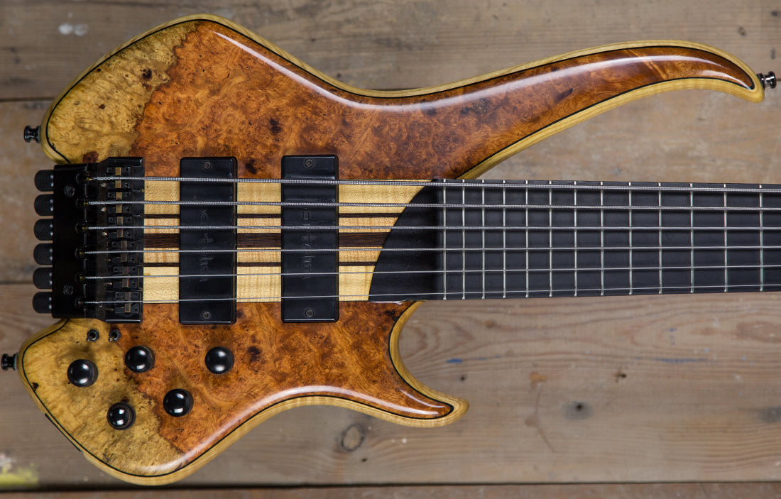 Sei Bass Flamboyant Headless 6 - The Bass Gallery