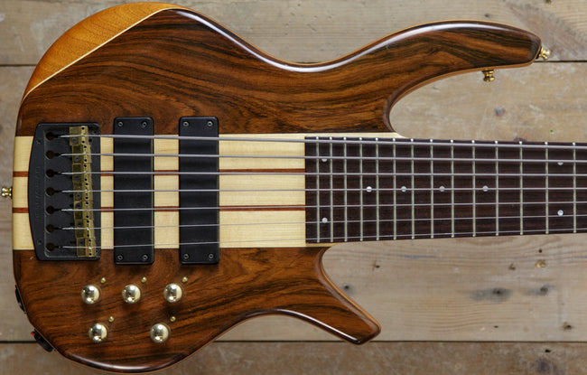 Overwater Progress III 7 String - The Bass Gallery