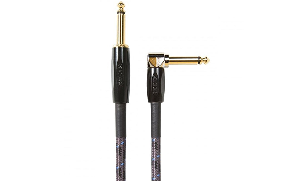 Boss BIC Instrument Cable (Straight to Angled) - The Bass Gallery