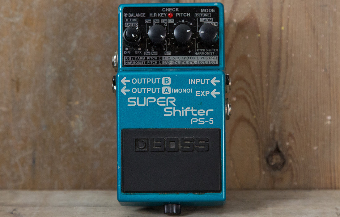 Boss PS-5 Super Shifter - The Bass Gallery