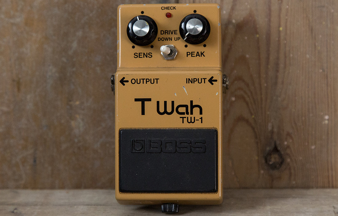 Boss TW-1 T Wah - The Bass Gallery