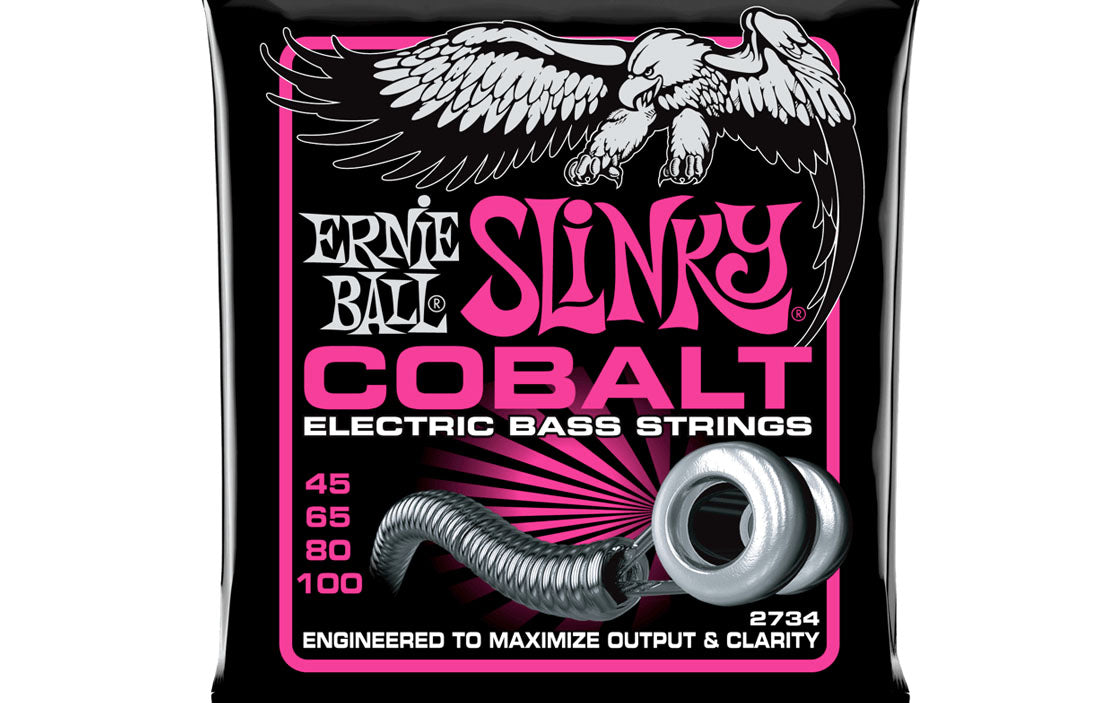 Ernie Ball Slinky Cobalt 45-100 - The Bass Gallery