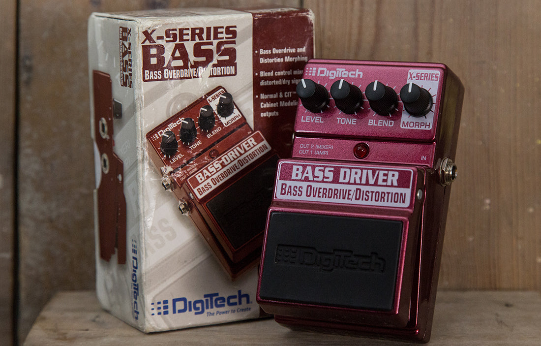 DigiTech X-Series Bass Driver Overdrive/Distortion - The Bass Gallery