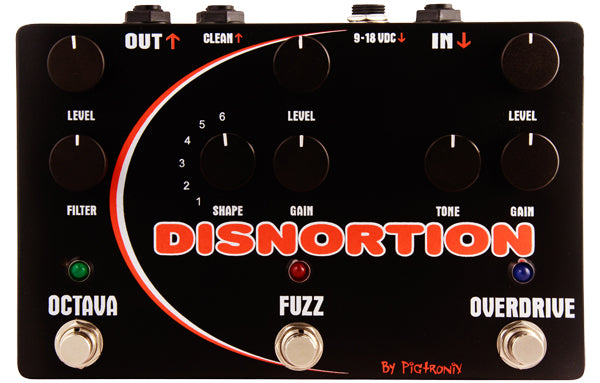 Pigtronix Disnortion - The Bass Gallery