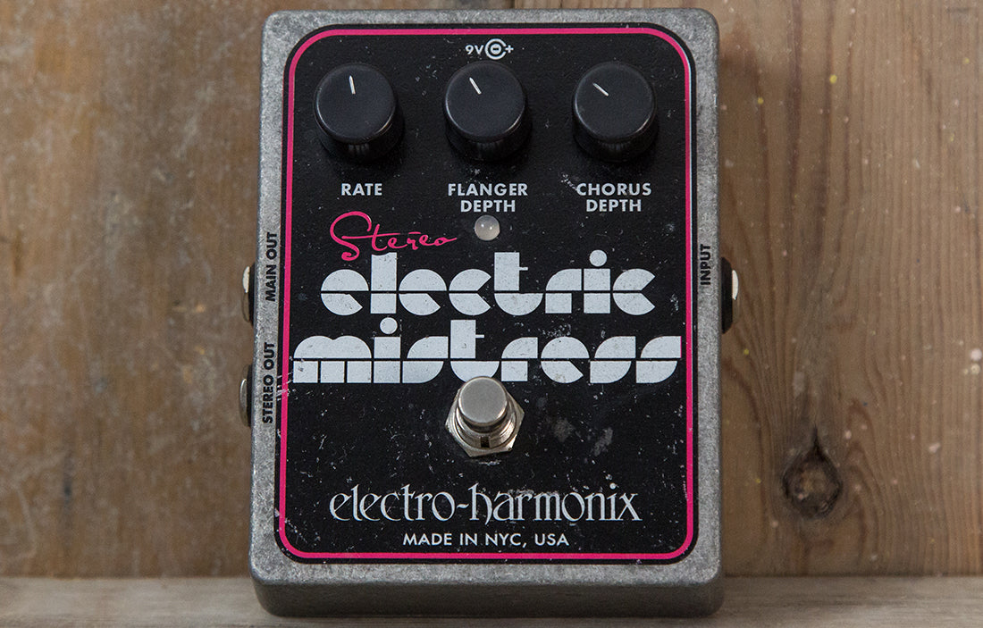 Electro Harmonix Stereo Electric Mistress Flanger - The Bass Gallery