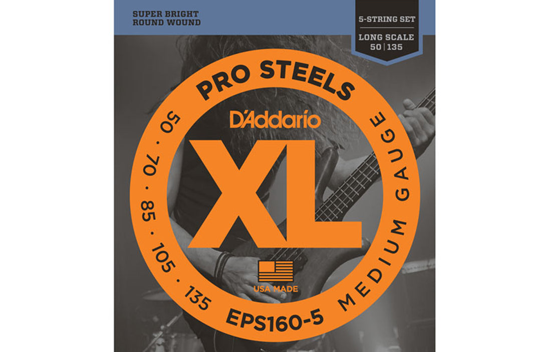 D'Addario EPS160-5 - The Bass Gallery