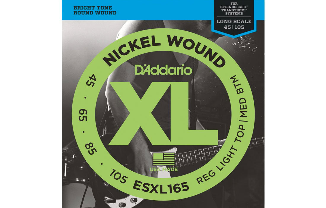 D'addario ESXL165 - The Bass Gallery