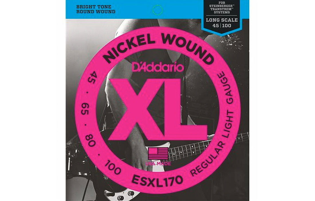 D'addario ESXL170 - The Bass Gallery