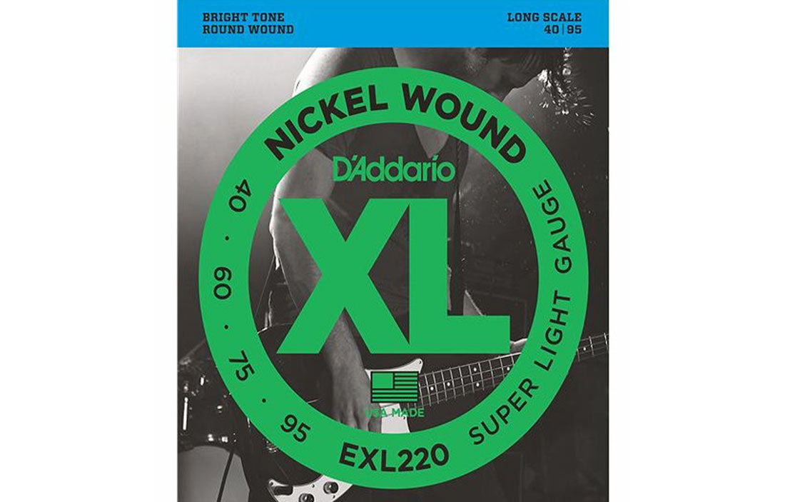 D'addario EXL220 - The Bass Gallery