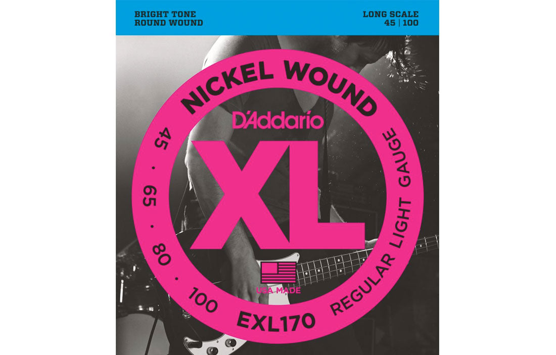 D'addario EXL170 - The Bass Gallery
