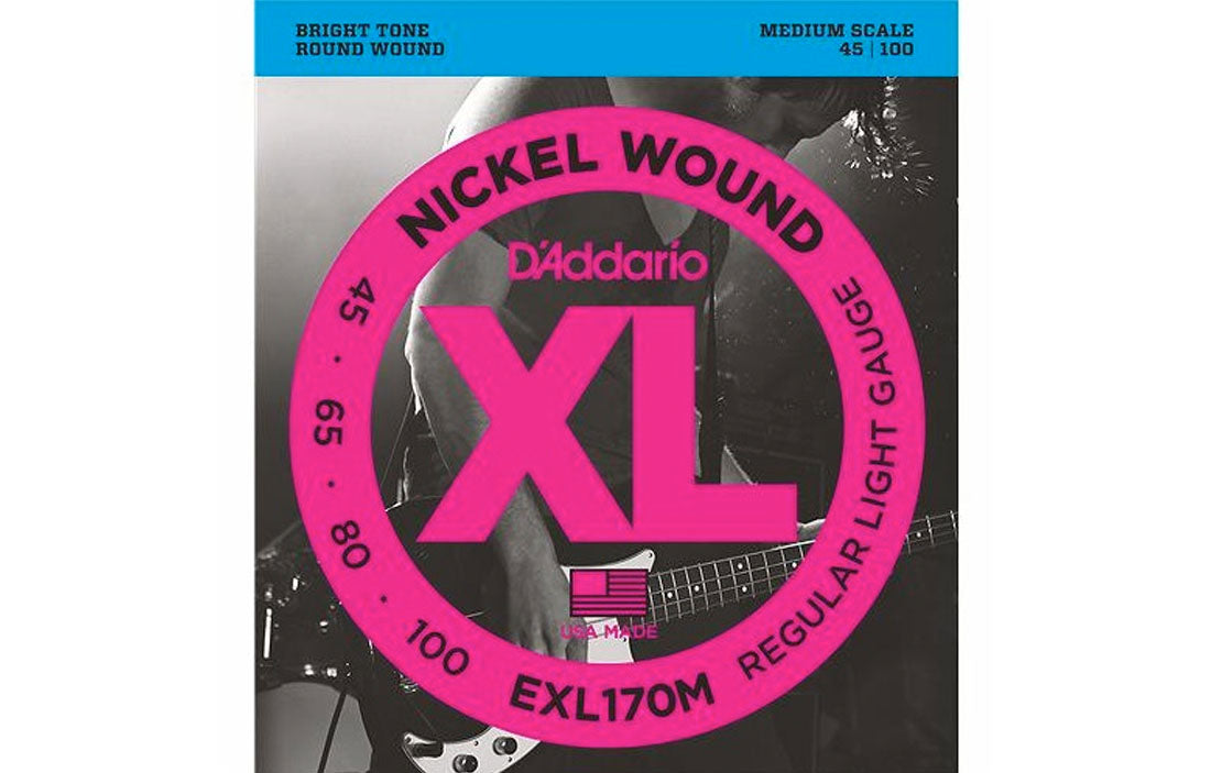 D'addario EXL 170M - The Bass Gallery