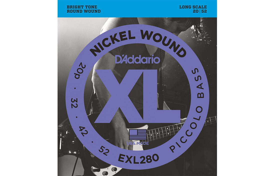 D'Addario EXL280 - The Bass Gallery