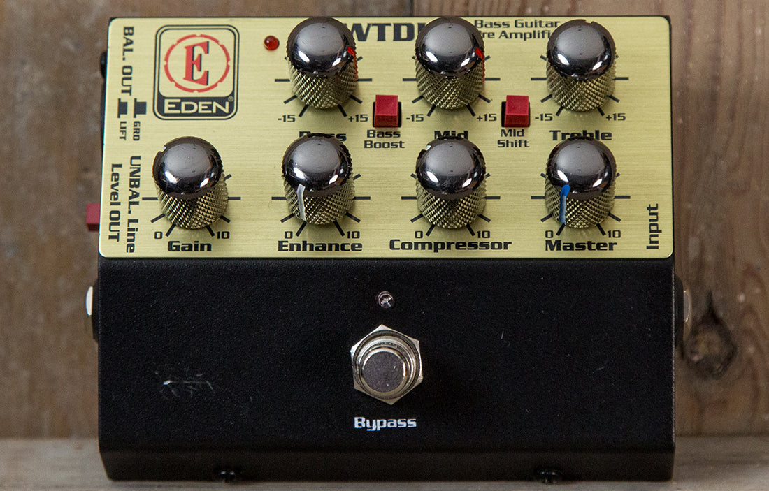 Eden WTDI Direct Box/Preamp - The Bass Gallery