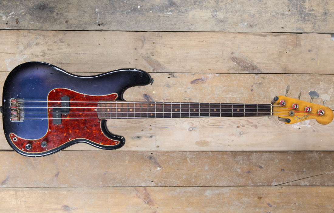 Fender Precision 1963 - The Bass Gallery