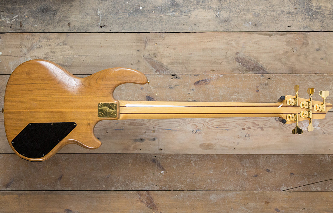 Wal Custom Left Handed Fretless - The Bass Gallery