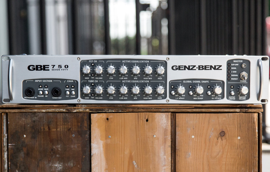 Genz Benz GBE-750 - The Bass Gallery
