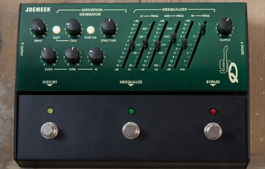 JoeMeek gbQ Distortion/EQ - The Bass Gallery