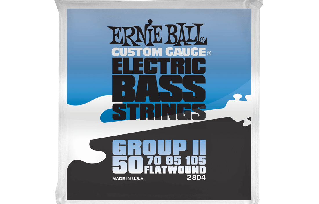 Ernie Ball Flatwound Group II 50-105 - The Bass Gallery