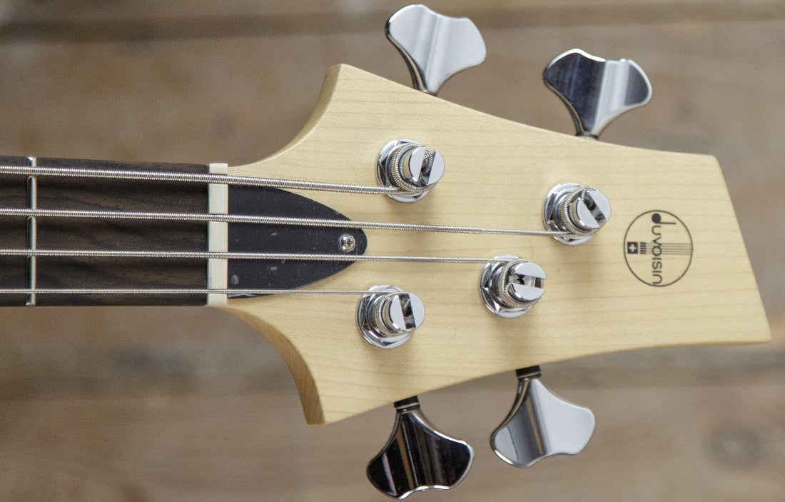 Duvoisin Standard Bass Translucent Black - The Bass Gallery