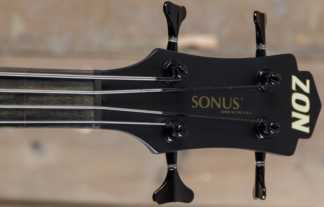 Zon Sonus Custom Fretless 4 - The Bass Gallery