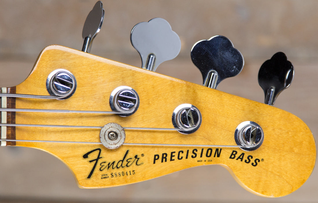 Fender Precision 1978 - The Bass Gallery