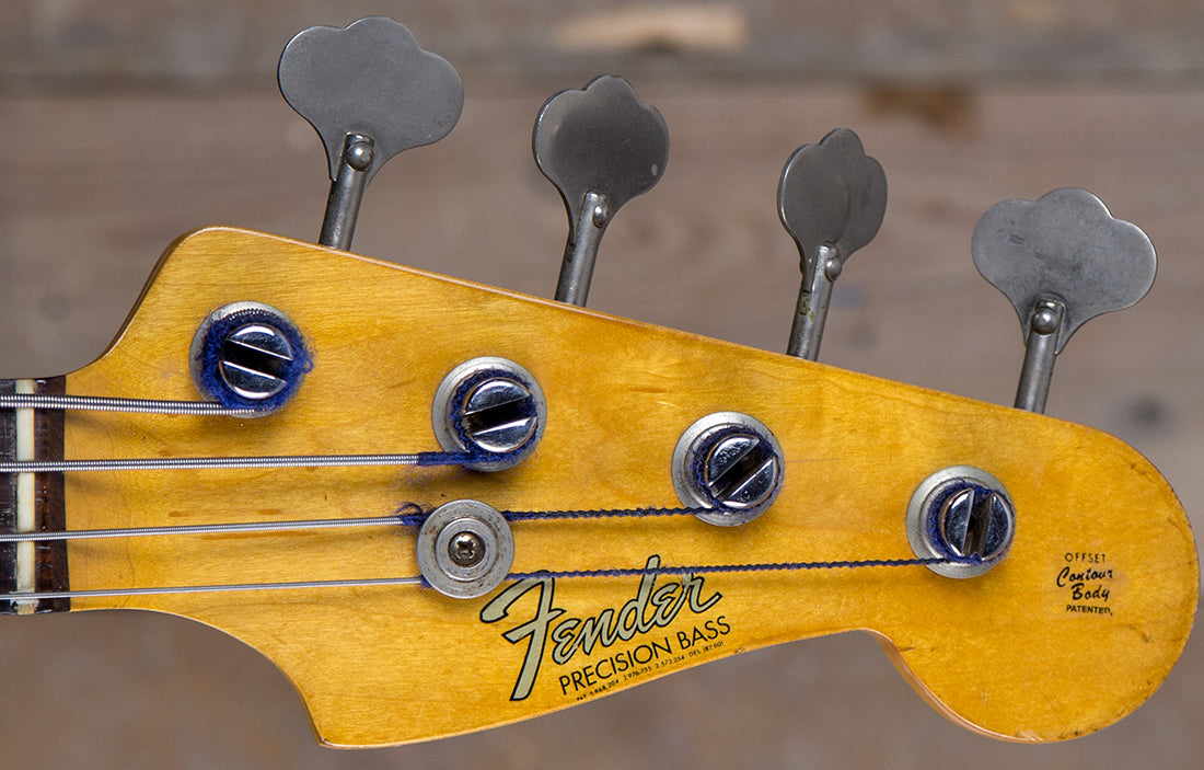 Fender Precision 1964 - The Bass Gallery
