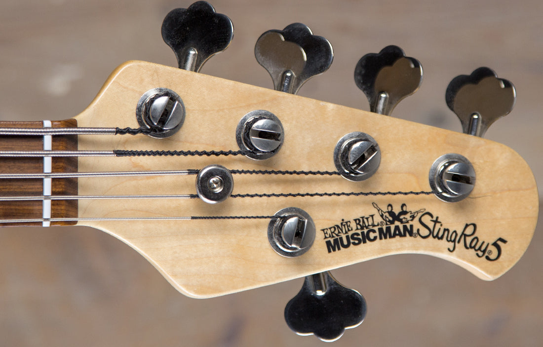 Ernie Ball Music Man StingRay Fretless 5 - The Bass Gallery