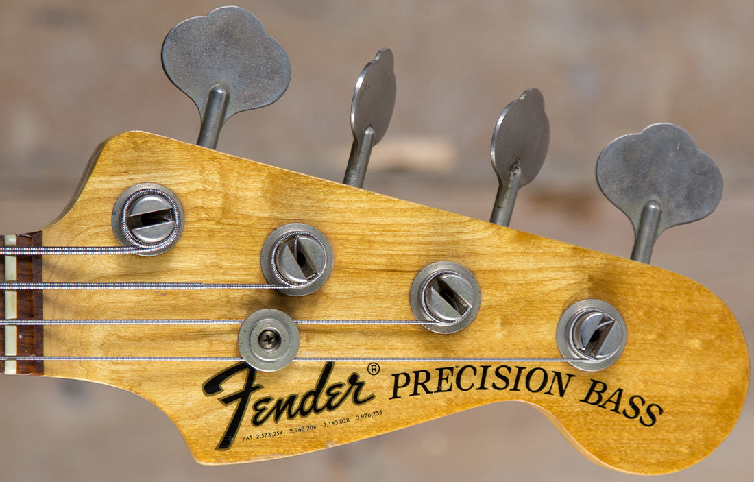 Fender Precision 1974 - The Bass Gallery
