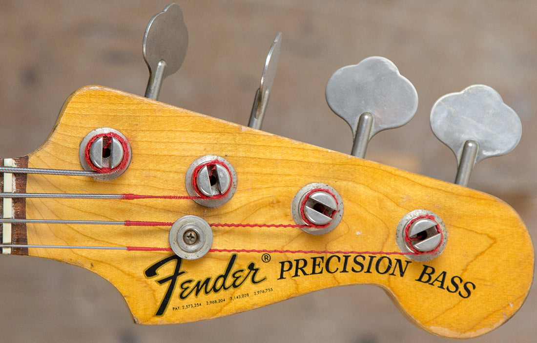 Fender Precision 1975 - The Bass Gallery