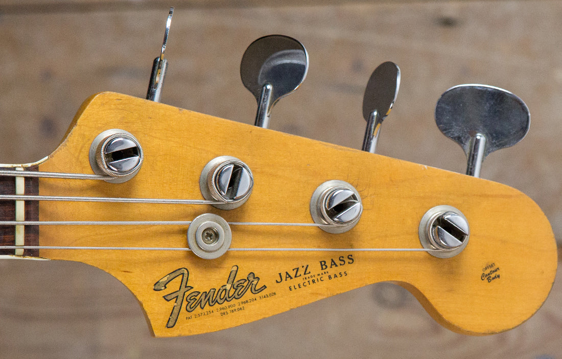 Fender Jazz 1966 - The Bass Gallery