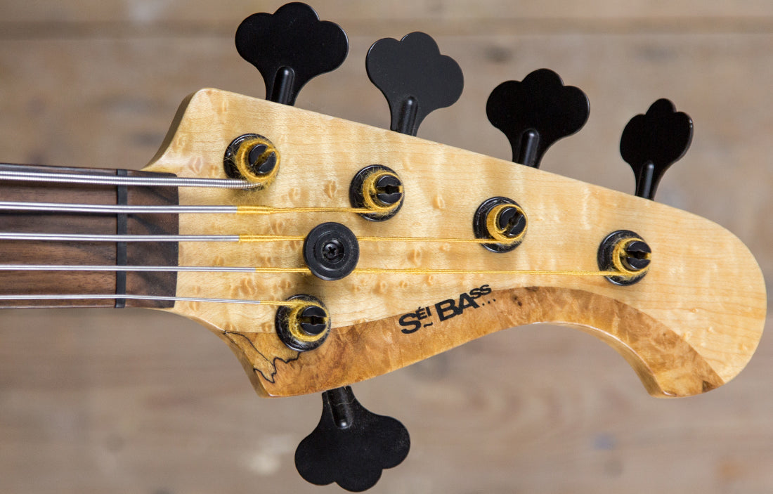 Sei Bass Jazz V Fretless - The Bass Gallery