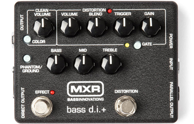 MXR Bass DI M80 - The Bass Gallery