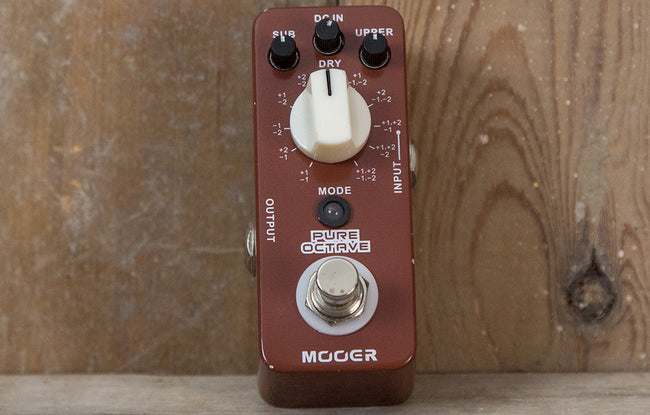 Mooer Pure Octave - The Bass Gallery