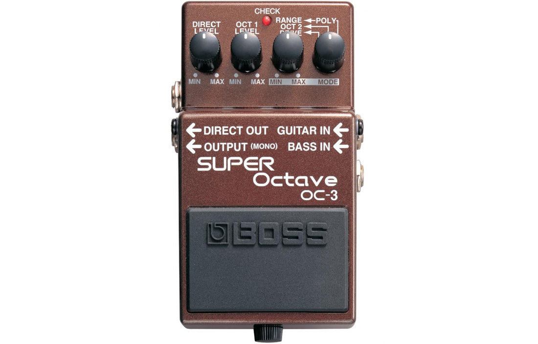 Boss OC-3 - The Bass Gallery