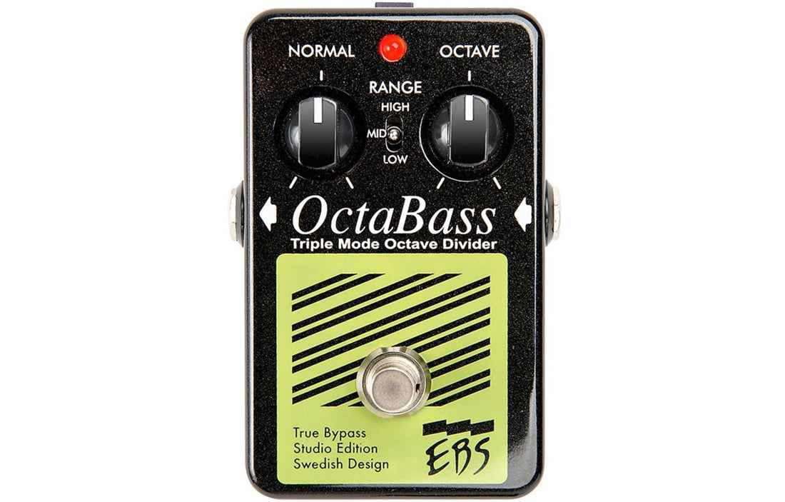 EBS OctaBass Studio Edition - The Bass Gallery