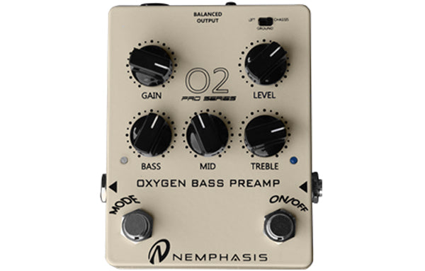 Nemphasis 02 Oxygen Bass Preamp Pro Series - The Bass Gallery