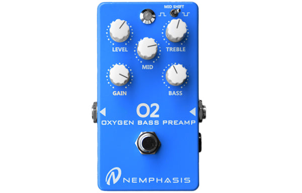 Nemphasis 02 Oxygen Bass Preamp - The Bass Gallery