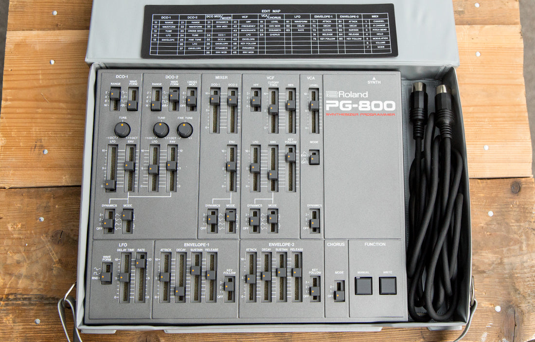 Roland PG-800 - The Bass Gallery