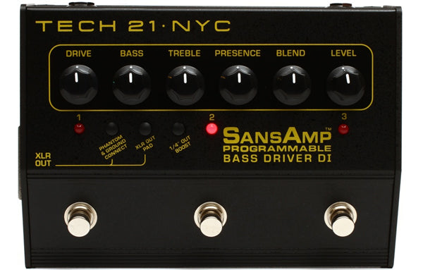 Sansamp Bass Driver Programmable DI - The Bass Gallery