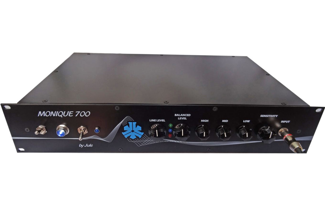 Jule Amps Rackmount 700 - The Bass Gallery