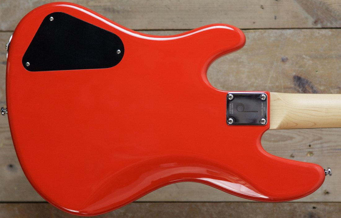 Duvoisin Standard Bass Fire Red (Limited Edition) - The Bass Gallery